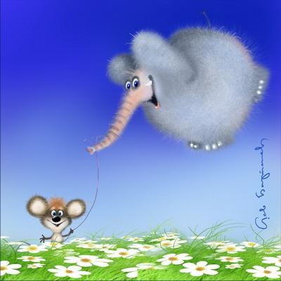 Як маленькая мышка слана перамагла