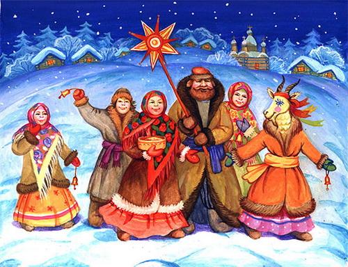 Стих на белорусском языке пра каляды