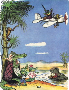 Кракодил на белорусском