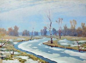 1. Куинджи. Ранняя весна. 1890-1895