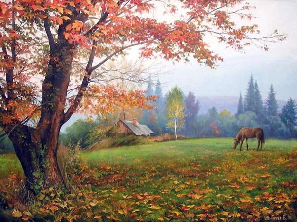 Верш пра восень